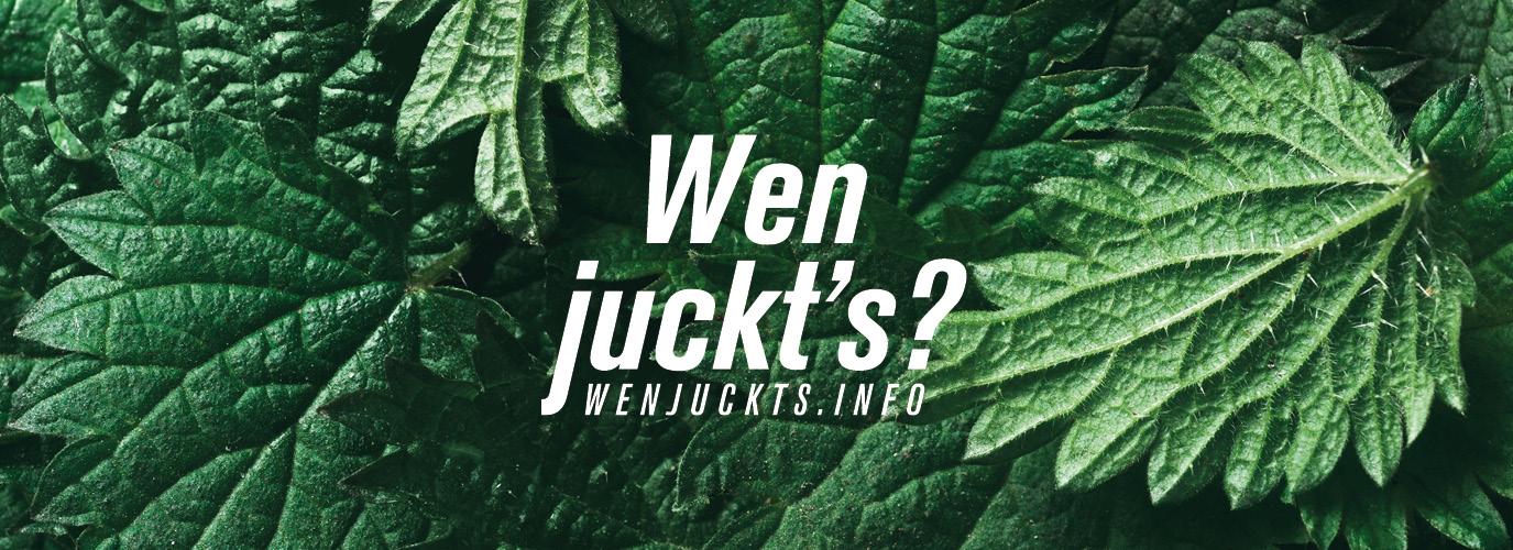Wen Juckt's?