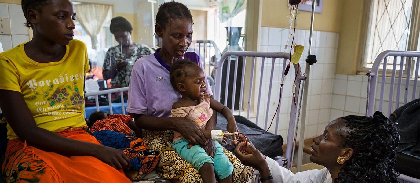 Novartis unterstützt den Aufbau weltweiter Gesundheitssysteme