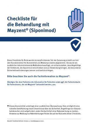 Mayzent® (Siponimod) RMP Material