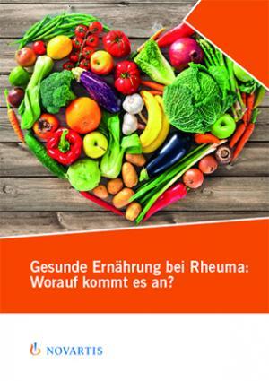 Ernährungsbroschüre Rheuma